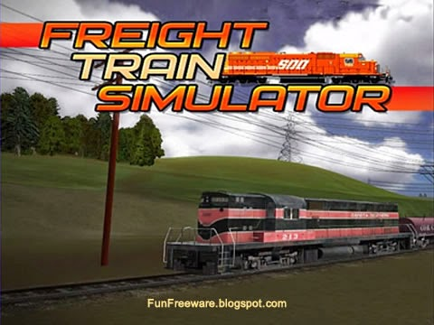Freeware 3D train simulation game - Freight Train Simulator