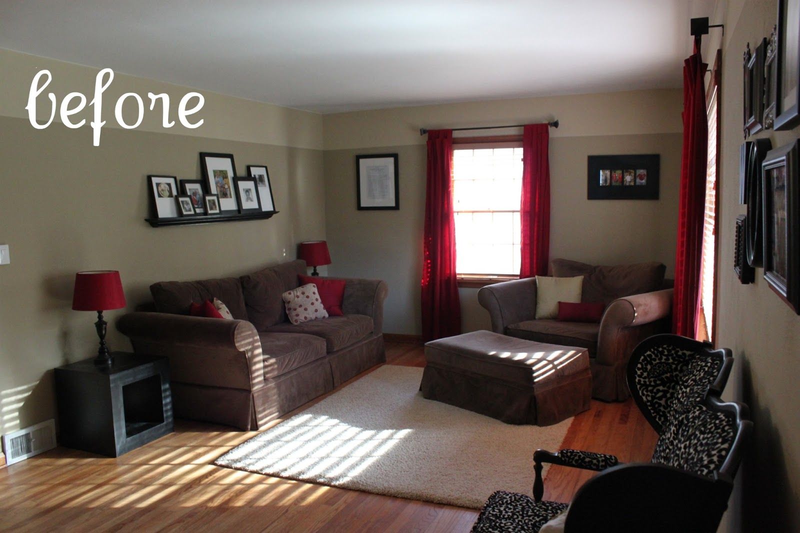 How to brighten up dark living room