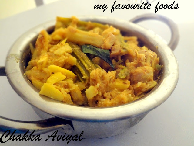 Chakka Aviyal (Jackfruit Aviyal)