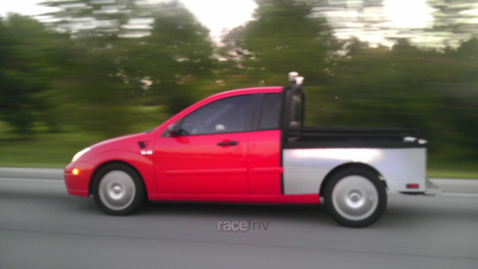 racefriv.com: A home-made Focus Truck - Fruck? And a car with a new ...