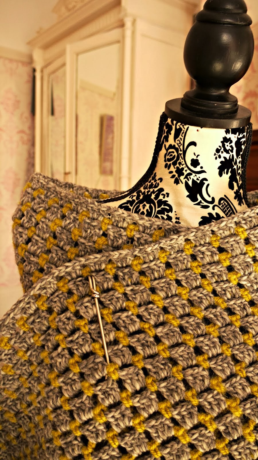 Marc Jacobs Crochet Shawl