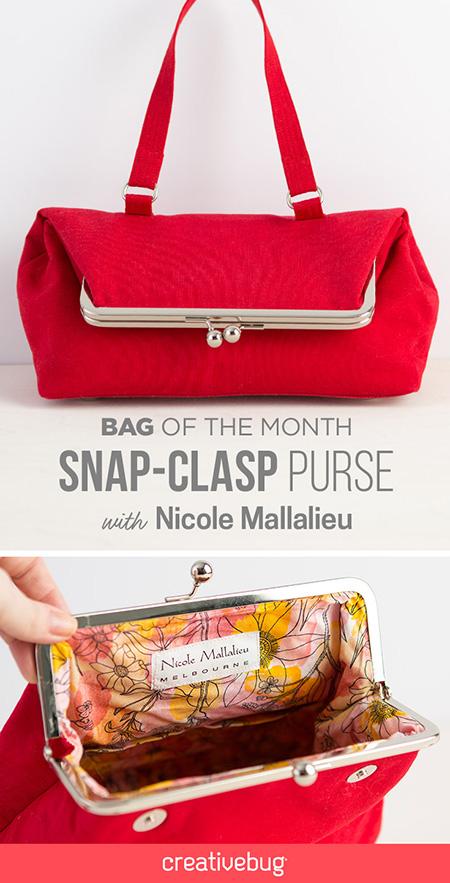 Snap Purse Class
