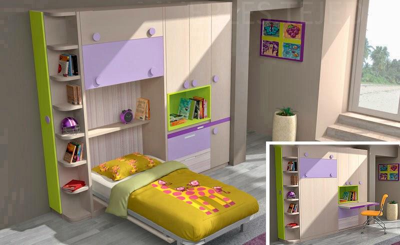 Wall beds ecuador consejos para decorar habitaciones - Habitaciones infantiles compartidas pequenas ...