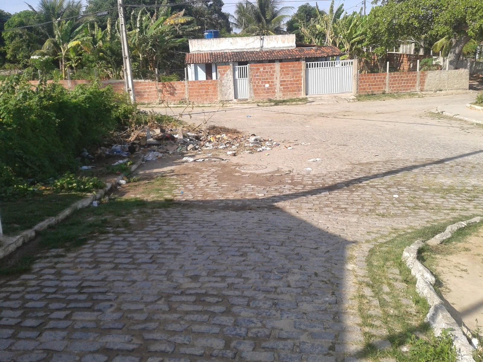 Resultado de imagem para lixo bairro campinas macaiba