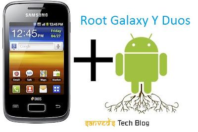 Rooting Galaxy Y Duos S6102