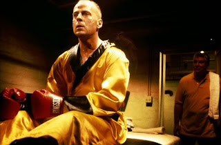 Bruce Willis as Boxer, boxing night, Pulp Fiction, Directed by Quentin Tarantino