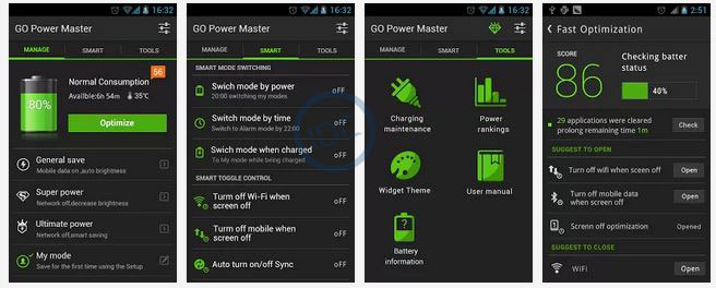 Aplikasi GO Batery Saver
