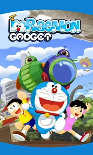 Screenshots of the Doraemon gadget rush for Android tablet, phone.