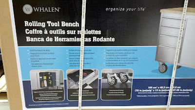 Whalen Rolling Tool Bench and Storage Mobile Tool Box for your garage or workshop