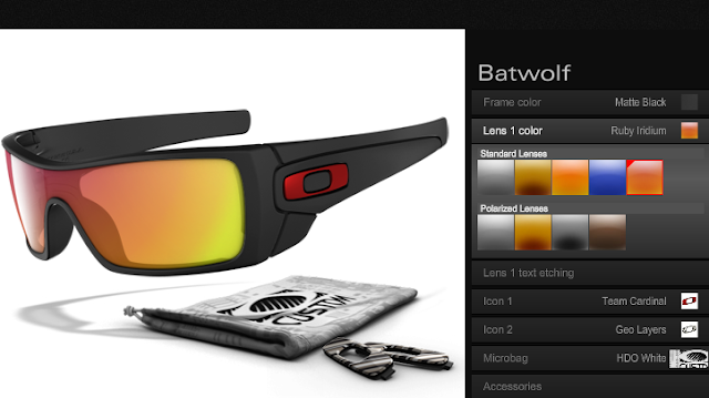 Customize Your Own Oakley Sunglasses