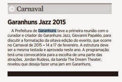GARANHUNS JAZZ FESTIVAL 2015