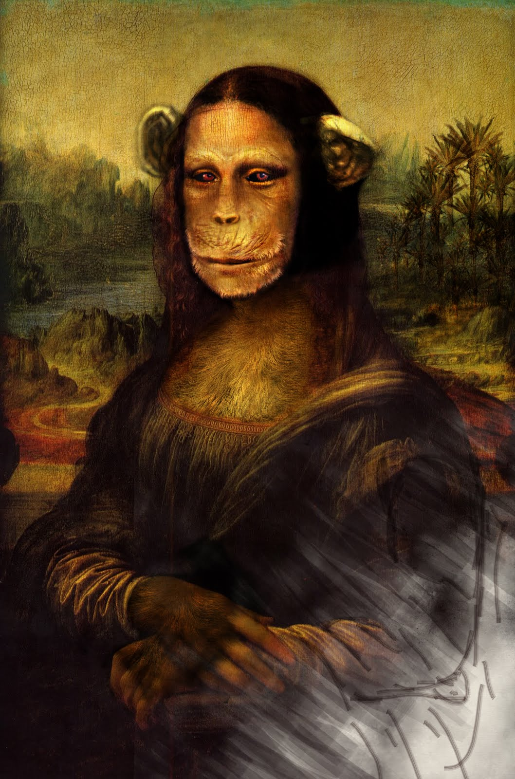 Famous Monkey Paintings