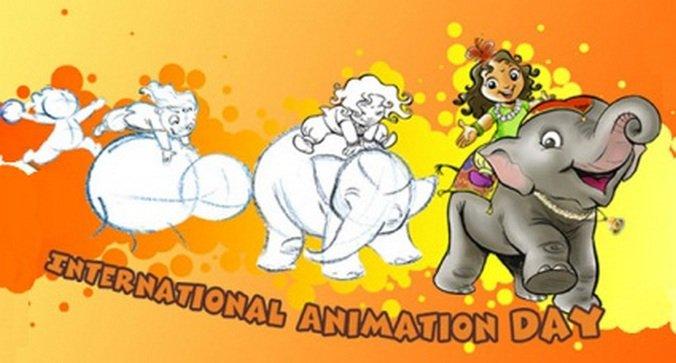 Картинки по запросу Международный день анимации (International Animation Day)