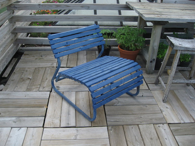 Blue Deck Chairs