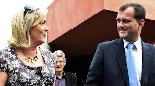 Marine Le Pen emploie son compagnon, polémique au Parlement européen