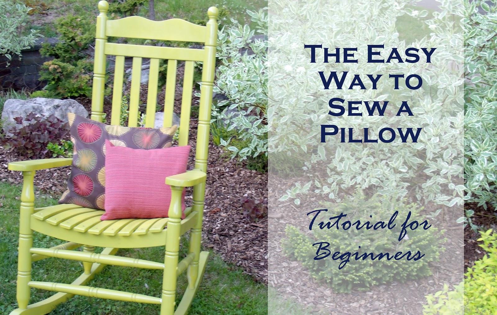 Pixlr Easy Pillow Sew Tutorial