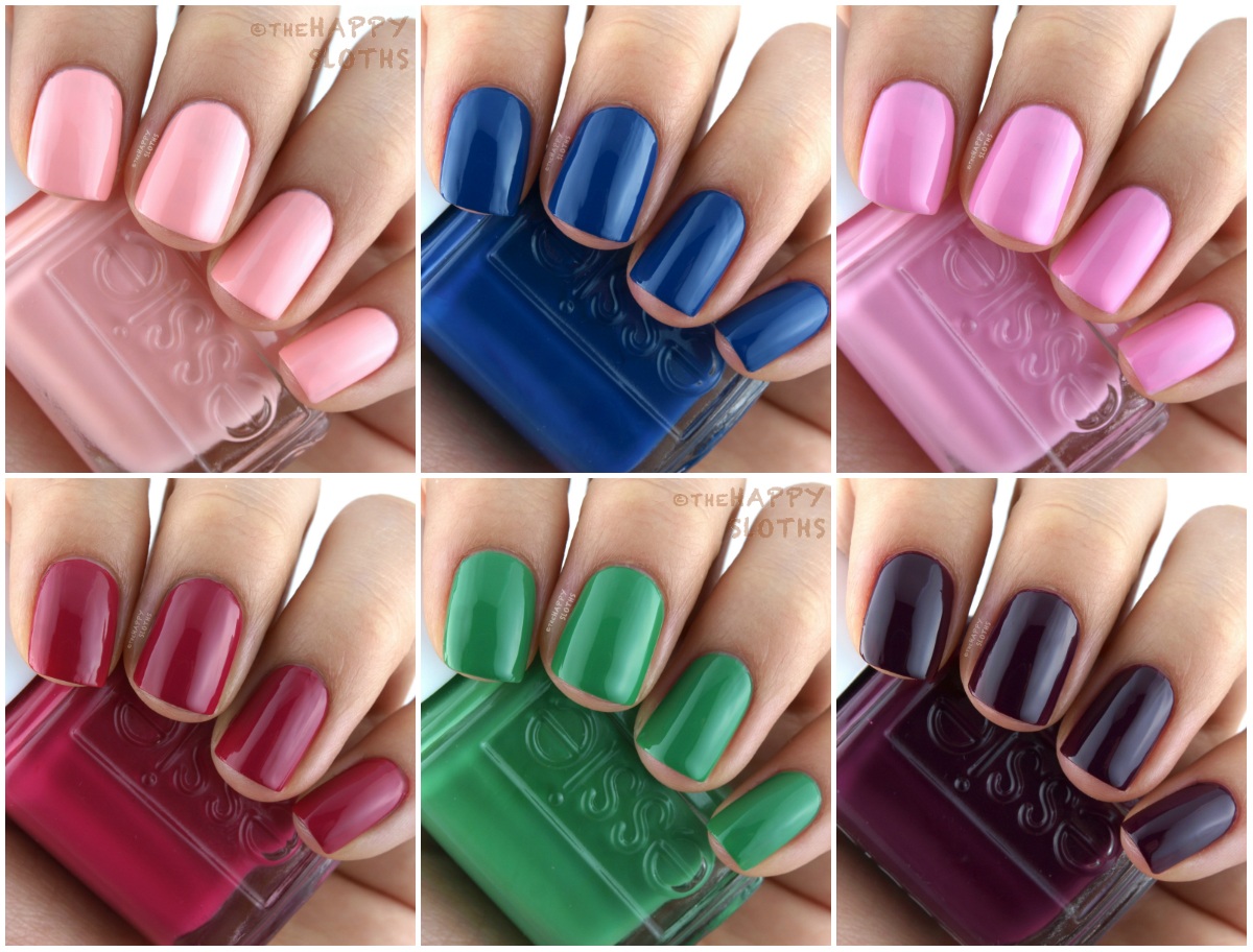 Essie resort nail polish collection