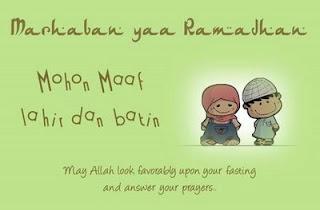 Kata Kata Ramadhan 2012