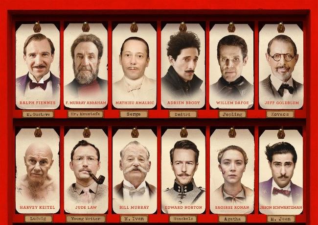 personajes hotel budapest