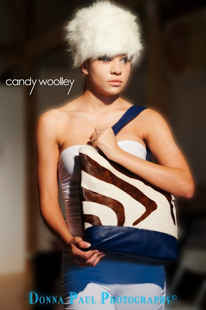 """A Woman of Many Hats"" Handbag Collection by Candy Woolley"