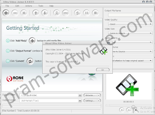 ScreenShot Ultra Video Joiner 6.4.0311