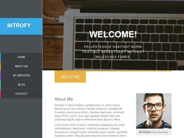 INTROFY RESPONSIVE BLOGGER TEMPLATE