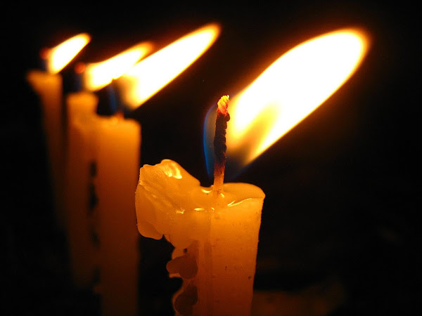 Christmas candles-http://colormagicphotography.com