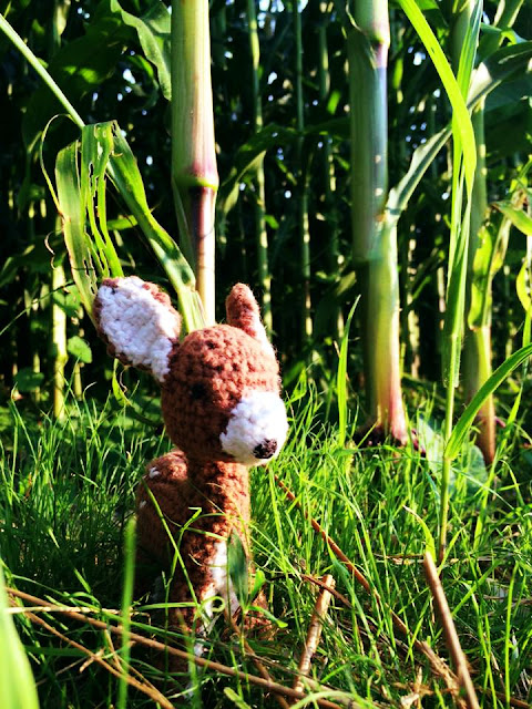 Reh Amigurumi Bambi - Ideenpiratin
