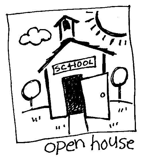 Back To School Night Clipart Black And White