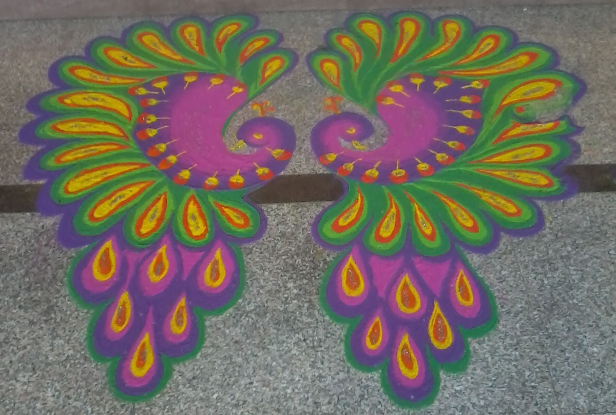 My World: My Rangoli Designs