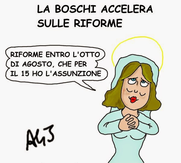 Boschi, riforme