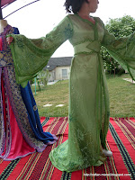 takchita Verte lina du maroc
