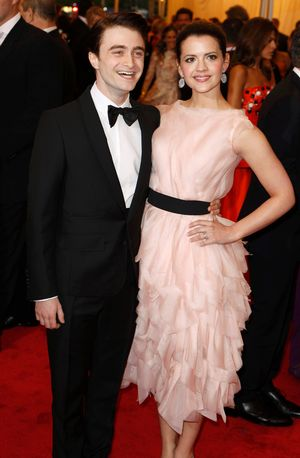Daniel Radcliffe with Girlfriend