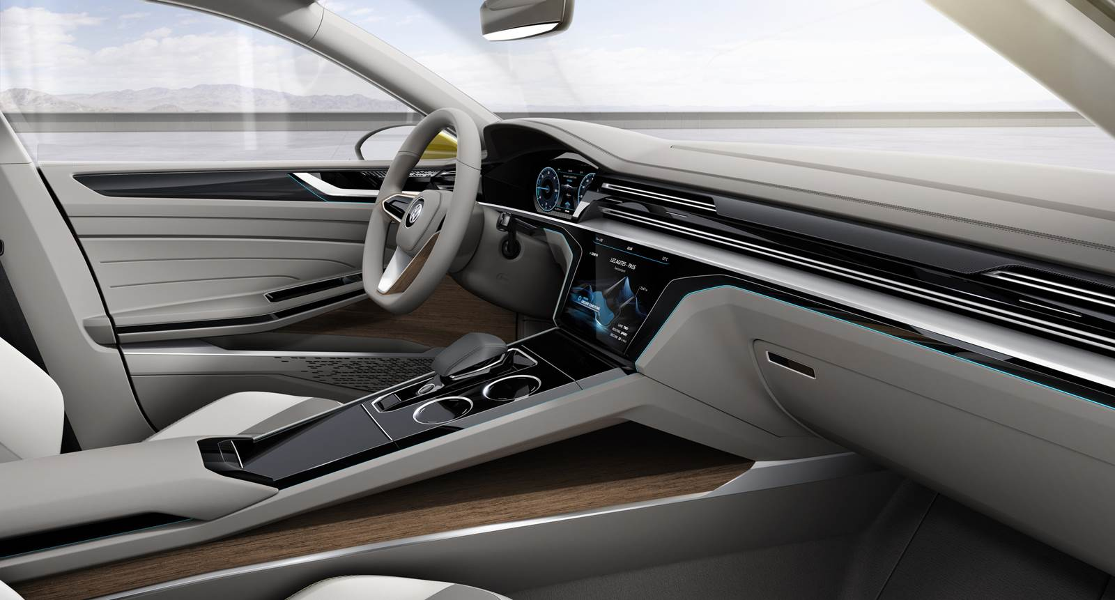 VW Sport Coupe Concept GTE - interior