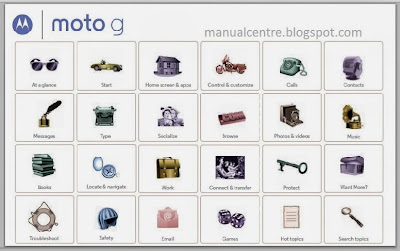 Motorola Moto G Manual Cover