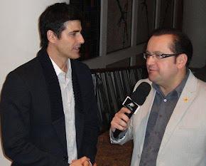 Reinaldo Gianecchini entrevistado por Antonio Carlos Gomes