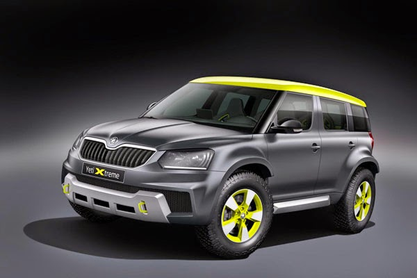 Skoda Yeti Xtreme, Rally Cars SUV with Ambition