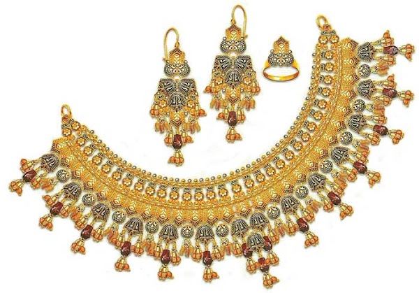 Heavy Wedding jewelry Designs &Pics