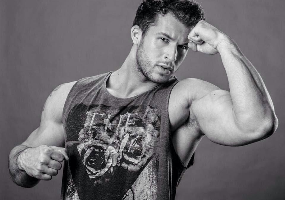 Muscular Man's Bicep Armpits