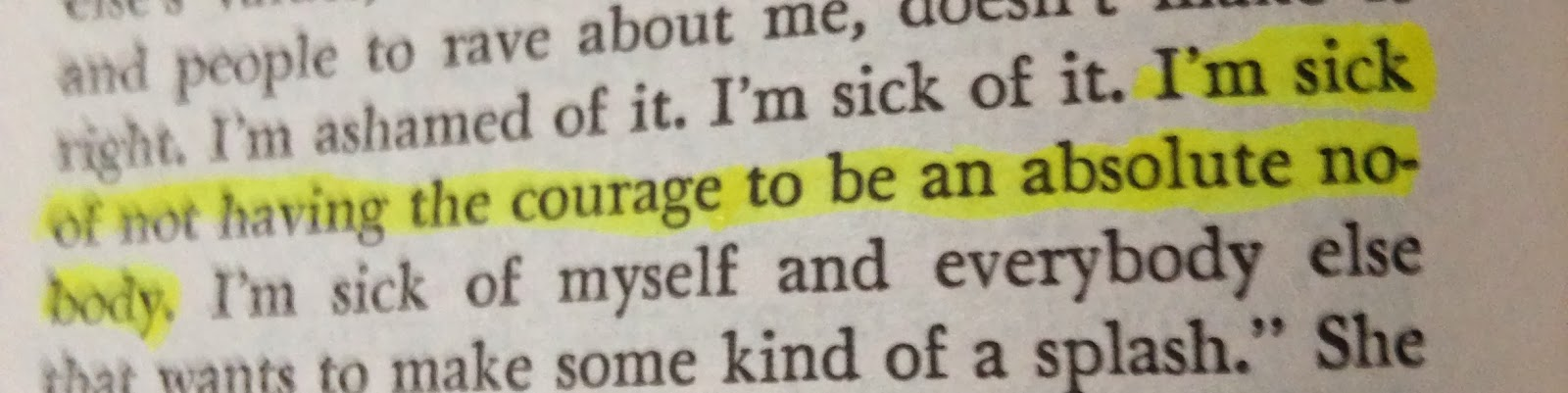 highlighted quote from j.d salinger's franny and zoey