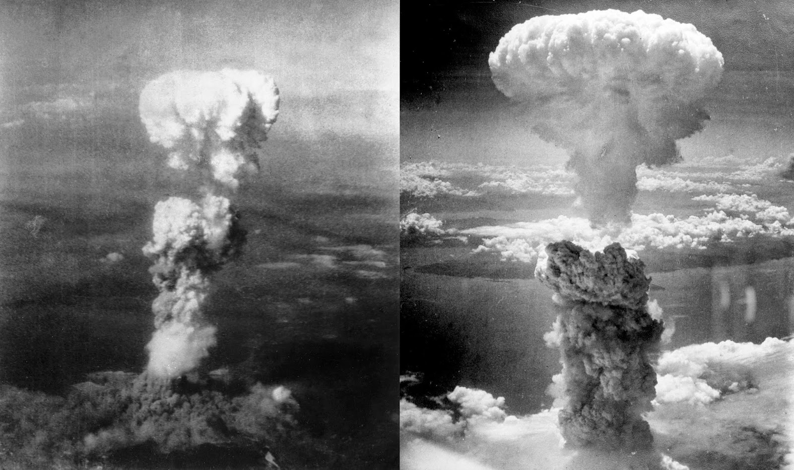 Hiroshima and Nagasaki Atomic Bombs