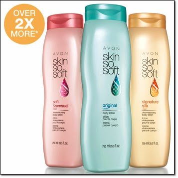 Skin So Soft Bonus Size Body lotions