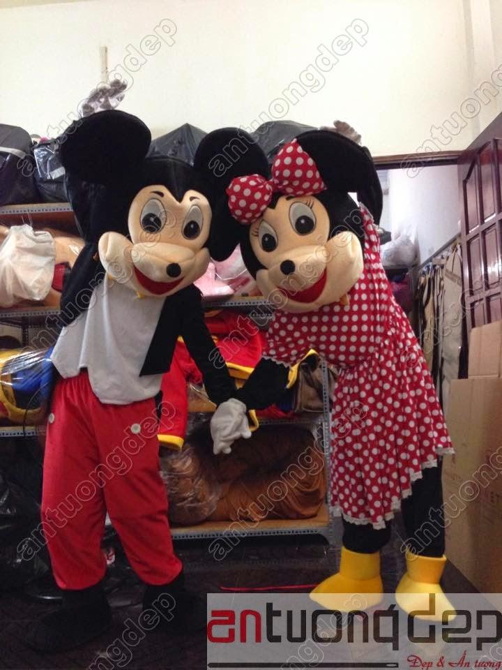 may bán chuột mickey