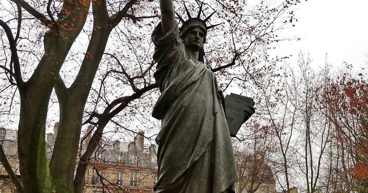 Sunday 39 S Picture And A Song Statue Of Liberty In The Luxembourg Garden