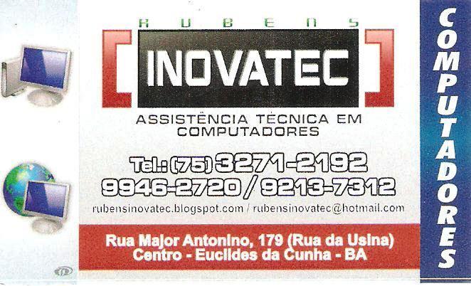 INOVATEC - ASSISTÊNCIA TÉCNICA EM COMPUTADORES E NOTEBOOKS E SISTEMAS DE VIGILÂNCIA PRIVADA
