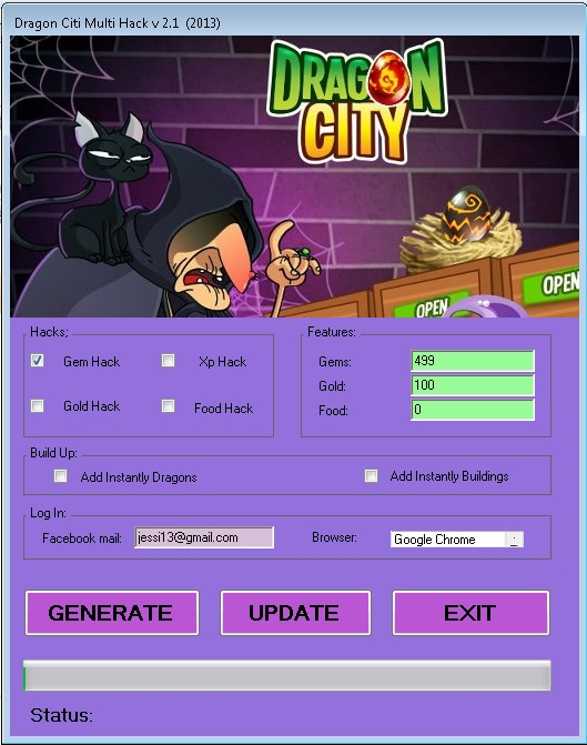 Dragon City hack, Dragon city gem hack, Dragon city Free gems