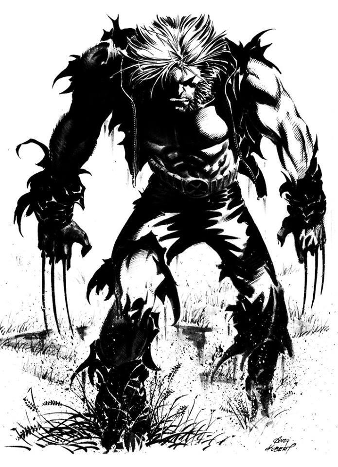 - Wolverine by Andy Kubert