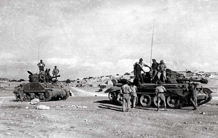 1948 FIRST TANKS OF THE IDF