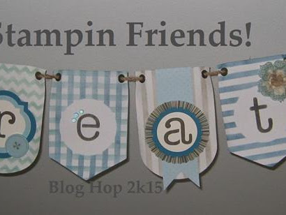 Stampin' Friends Blog Hopping & A Happy Halloween