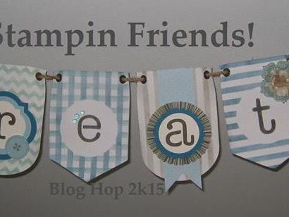 Stampin' Friends - Merry Christmas Blog Hop!